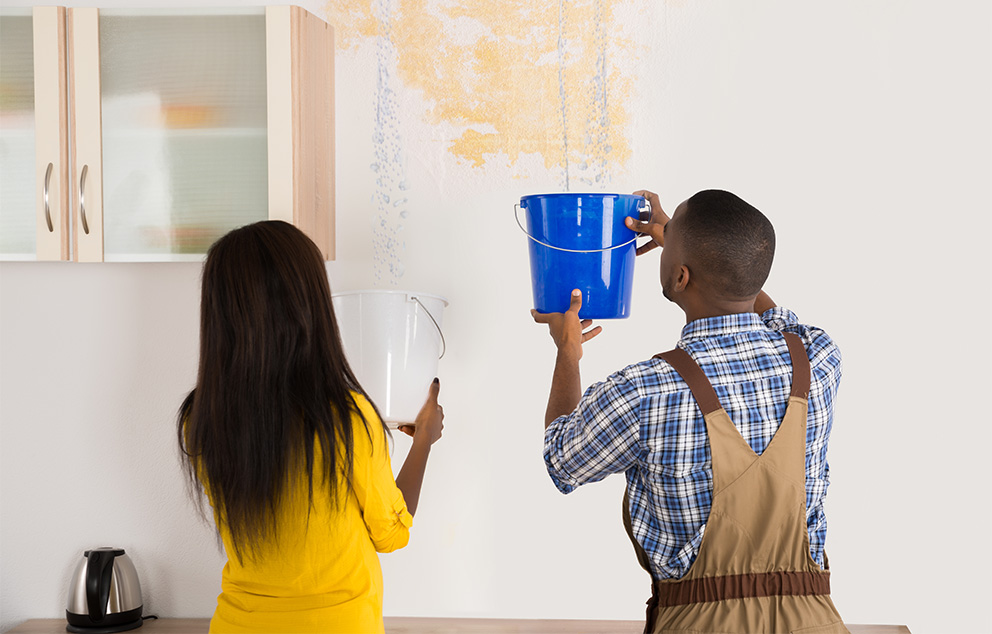 What Should You do When Your Ceiling is Leaking